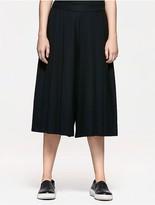 Calvin Klein Platinum Pleated Wide Pants