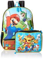 Nintendo Boys' Mario Backpack with Lunch