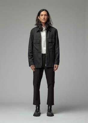 Totokaelo Archive Men's Ashton Zip Jacket in Black Wool Size Small Polyester/Wool/Elastane