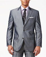 Sean John Grey Striped Classic-Fit Jacket