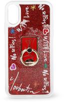 Christian Louboutin Loubiring iPhone case XS