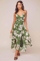 ASTR the Label The Lyric Dress In Green - XS