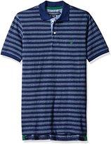 U.S. Polo Assn. Men's Bengal Striped Polo Shirt