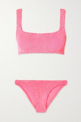 Hunza G Seersucker Bikini - Bright pink