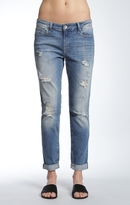 Mavi Jeans Ada Boyfriend In Extreme Ripped Vintage