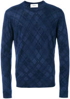 Pringle tartan print sweater