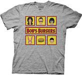 Novelty T-Shirts Bob's Burgers Short-Sleeve Graphic Tee
