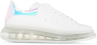 Alexander McQueen Oversized Two-Tone Sneakers