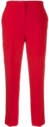 No.21 Cropped Tailored Trousers