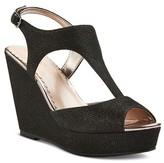 Tevolio Women's Ryatt Platform Shimmer Dress Sandals