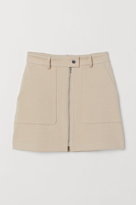 H&M Zipped skirt