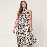 Lauren Conrad Runway Collection Ruffle Midi Dress - Plus Size