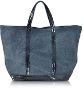 Vanessa Bruno Les Cabas Medium Linen and Sequins Tote