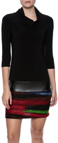 Joseph Ribkoff Tunic Turtleneck Dress