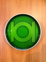 Bioworld LANTERN Epoxy Fill DC Comics Logo Belt BUCKLE
