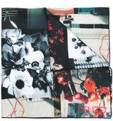 Kenzo floral print scarf - women - Silk - One Size