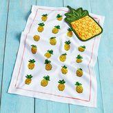 Sur La Table Pineapple Pot Holder and Towel Set