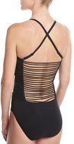Profile by Gottex Sex On The Beach Sweetheart One-Piece Swimsuit, Black