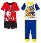 Nickelodeon Paw Patrol Toddler Boys' 4-Piece Pajama Set Multicolored