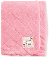 Carter's Quilted Plush Blanket, Baby Girls
