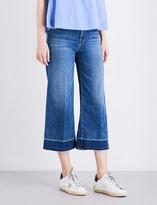 J Brand Liza wide-leg mid-rise jeans