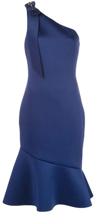 a646561ca7 Badgley Mischka One Shoulder Dress - ShopStyle