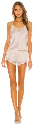Flora Nikrooz Gabby Charmuese Cami Set With Lace