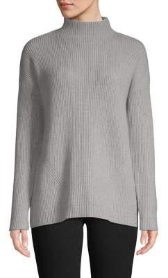 Isaac Mizrahi Imnyc Long-Sleeve Mockneck Sweater
