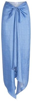 Lulu Pdn London Silk Skirt