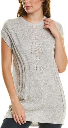 Tsesay Drop-Stitch Wool-Blend Tunic