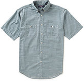 Roundtree & Yorke Casuals Short-Sleeve Solid 2-Pocket Sportshirt