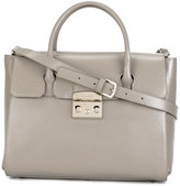 Furla double handles tote - women - Leather - One Size