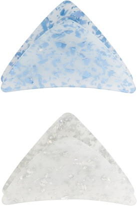 Tasha 2-Pack Triangle Jaw Clips