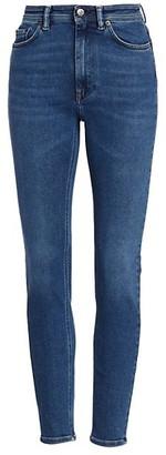 Acne Studios High-Rise Skinny Jeans