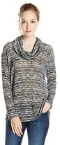 Splendid Women's Upstate Loose Knit Cowl Neck Tunic Top