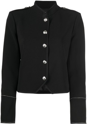 Patrizia Pepe Tailored Military-Style Blazer