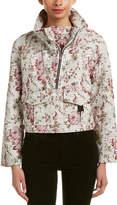 A.L.C. Clarke Leather-Trim Jacket