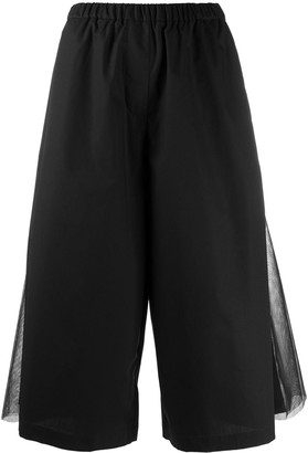 PASKAL clothes Layered Cropped Culottes