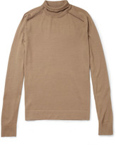 Balenciaga - Wool, Silk And Cashmere-blend Rollneck Sweater