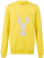 Rick Owens embroidered sweatshirt