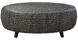 Bayou Breeze Nobles Oval Coffee Table Color: Silver Patina