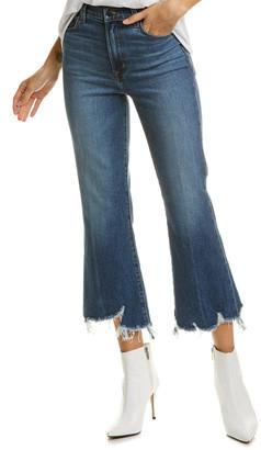 J Brand Julia Wonderland Destruct High-Rise Flare Leg Jean