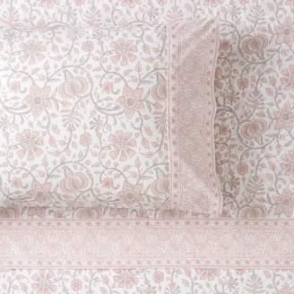 Pottery Barn Teen Anjolie Paisley Pillowcases, Set of 2, Faded Indigo