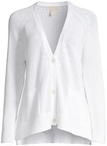 Eileen Fisher V-Neck Side Slit Cardigan