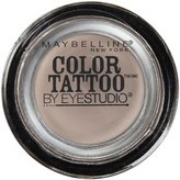 Maybelline EyeStudio Color Tattoo 24Hr Eyeshadow, Tough As Taupe [35], 0.14 oz by