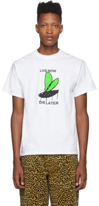 Noah NYC White Live Now T-Shirt