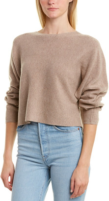 Monrow Rib Wool & Cashmere-Blend Sweater