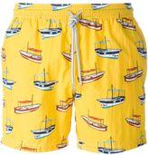 Capricode - boat print swim shorts - men - Polyamide - S