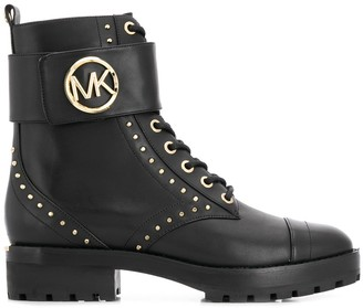 MICHAEL Michael Kors Studded Ankle Boots