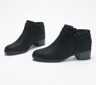 Easy Street Shoes Knot Ankle Boots - Wylie